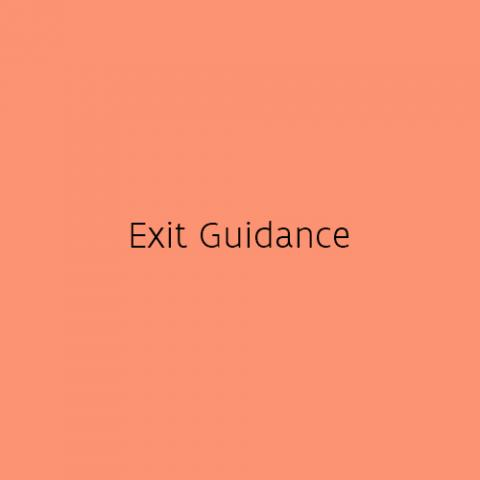 Exit Guidance